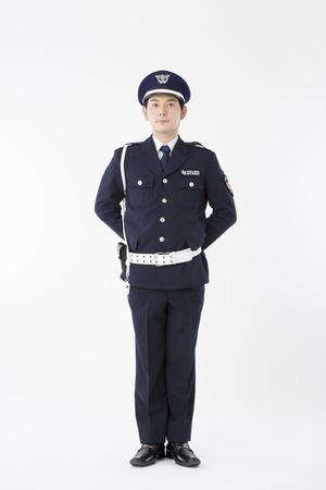 A portrait of guards Banque d'images