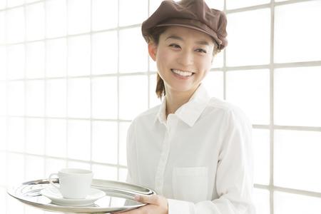 clerk: Smile cafe clerk