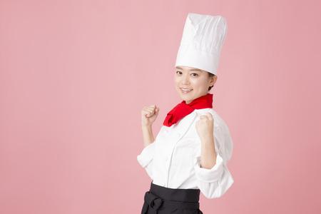 wnętrzności: Pastry chef for the guts pose Zdjęcie Seryjne
