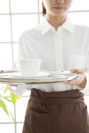 oficinista: Cafe oficina Que una bebida Foto de archivo