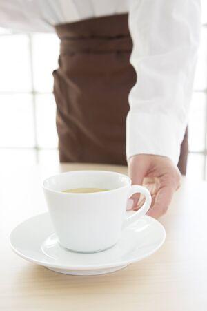 ドリンクはカフェ店員の問題