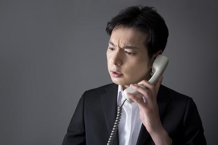A telephone man 写真素材