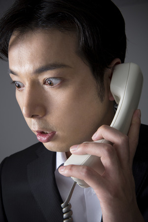con man: Men surprised on the received phone