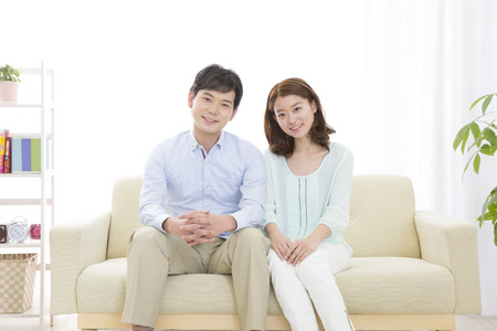 Couple of smile