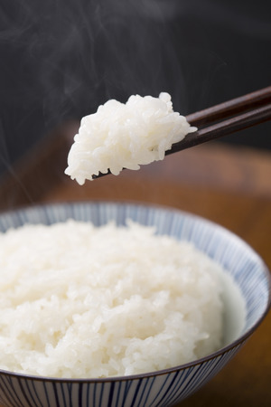 White rice: White rice cooked