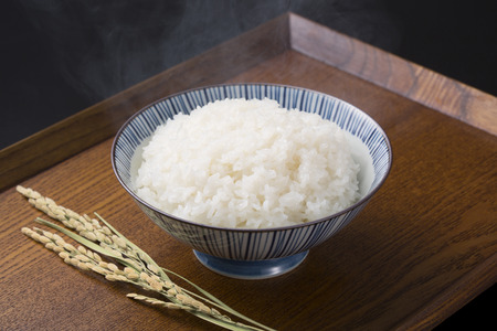 newcomer: Rice and rice Stock Photo