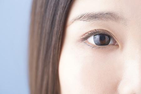 女性の目 写真素材