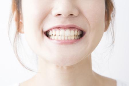 Smiling woman Banque d'images