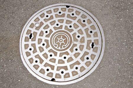 manhole: The manhole