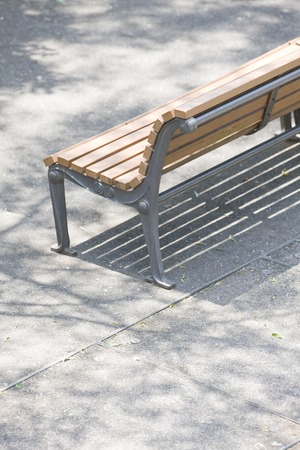 intermission: Bench Stock Photo