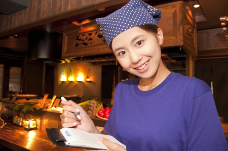 hospitality staff: Tavern employees who listen to the order