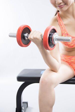 brute: Dumbbell exercise women