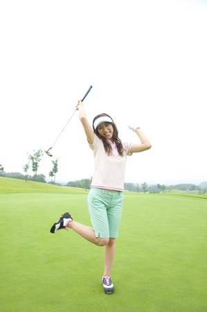 rejoice: Women who rejoice with a putter