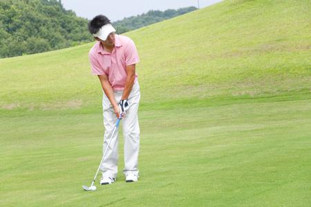 played: Men played golf