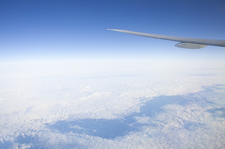 airliner: Sky as seen from airliner