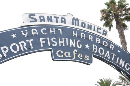monica: Santa Monica Beach