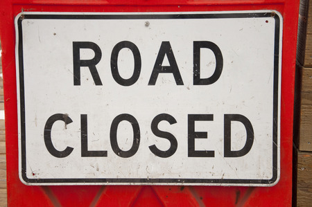 closure: Closure of label Stock Photo