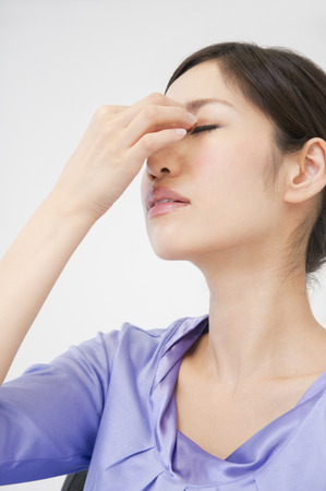 neuralgia: OL to suppress the root of the nose