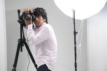 Photographer Banque d'images