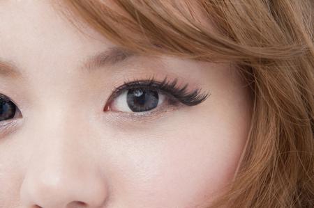 Female eyes