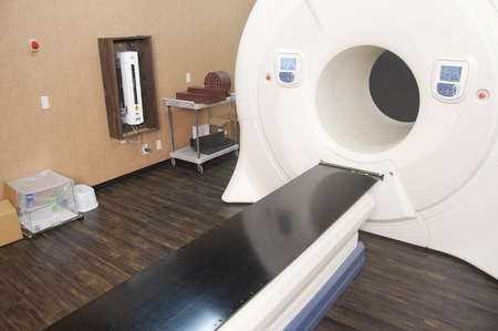 radiation therapy: Radiation therapy device over Stock Photo