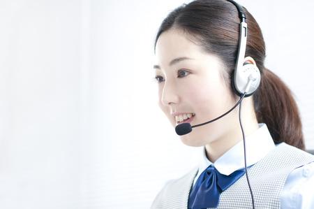 Call Center-Betreiber Standard-Bild