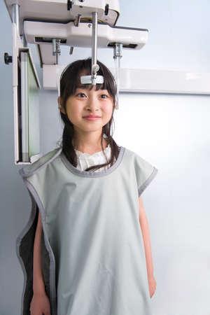radiologist: Radiologist girl Stock Photo