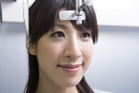 Women taking an x-ray