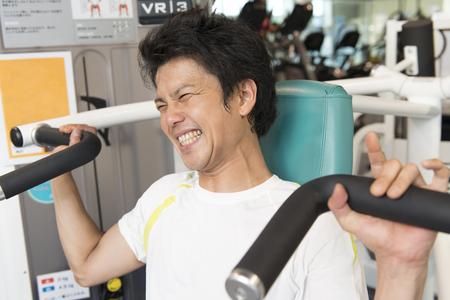 muscle training: Training für Männer
