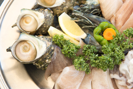 fishery products: BBQ ingredients