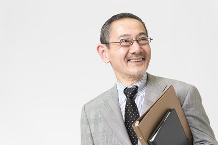笑顔の実業家 写真素材