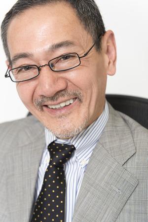 Smiling businessman Reklamní fotografie
