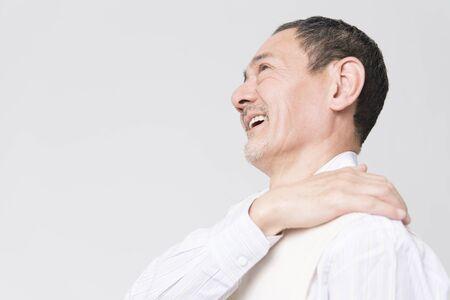resolved: Stiff neck smiles easier senior men
