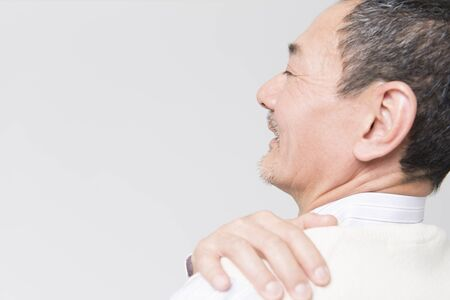 stiffness: Stiff neck smiles easier senior men