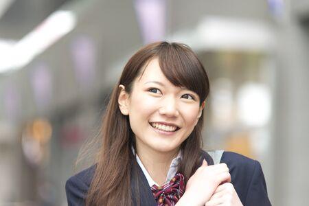 10th: High school girls smile
