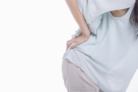 low back: Women who suffer from low back pain