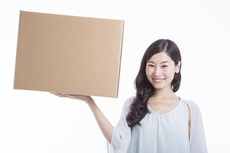 sift: Women with cardboard