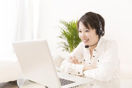 Women in video chat