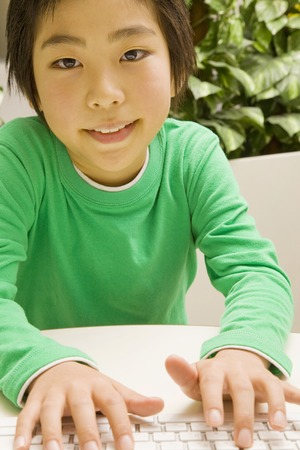 operating key: Boy to operate the personal computer