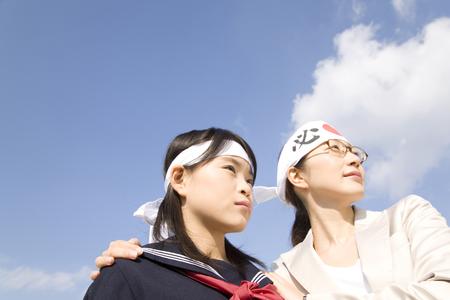 cram: Girls junior high school and cram school teacher