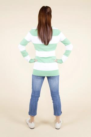 mujer de espaldas: Mujer de espaldas