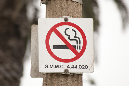 non la: Non smoking signs