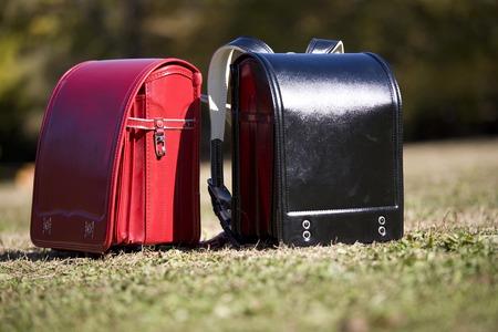 School bags Stock Photo