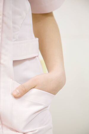 hands on pocket: Women to put their hands in pocket