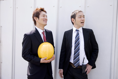confirmed: Two businessmen to the site confirmed