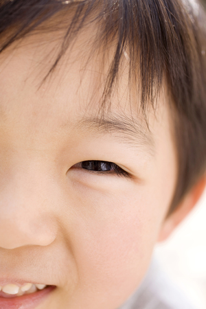 kindy: Children smile