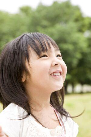 kindergartener: Sweet smile girl