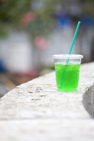 carbonated drink: Melon soda