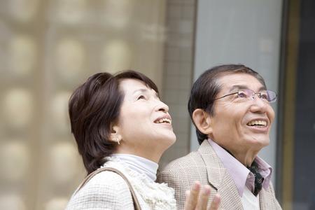seventy two: Senior couple image
