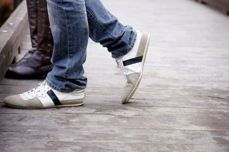 foot bridges: The foot of the couple